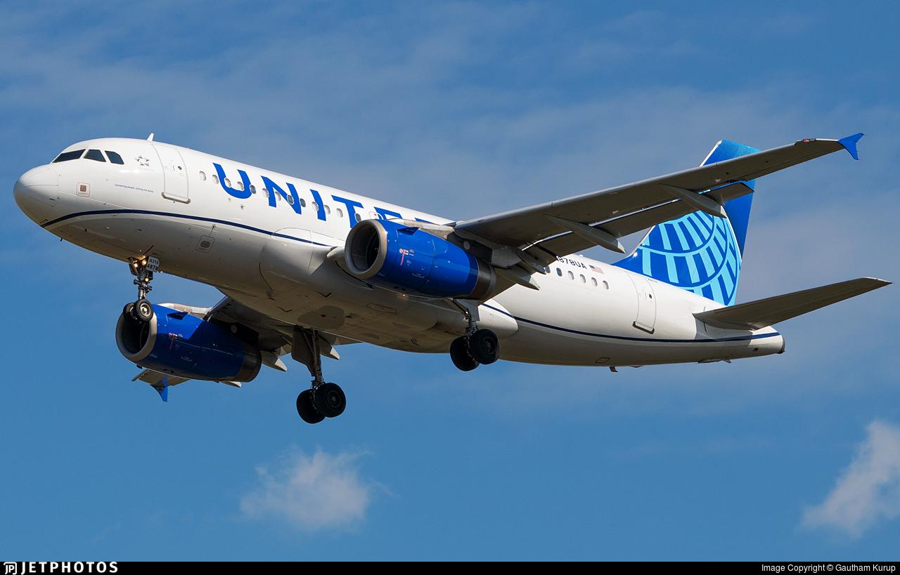 N878UA - Airbus A319-132 - United Airlines