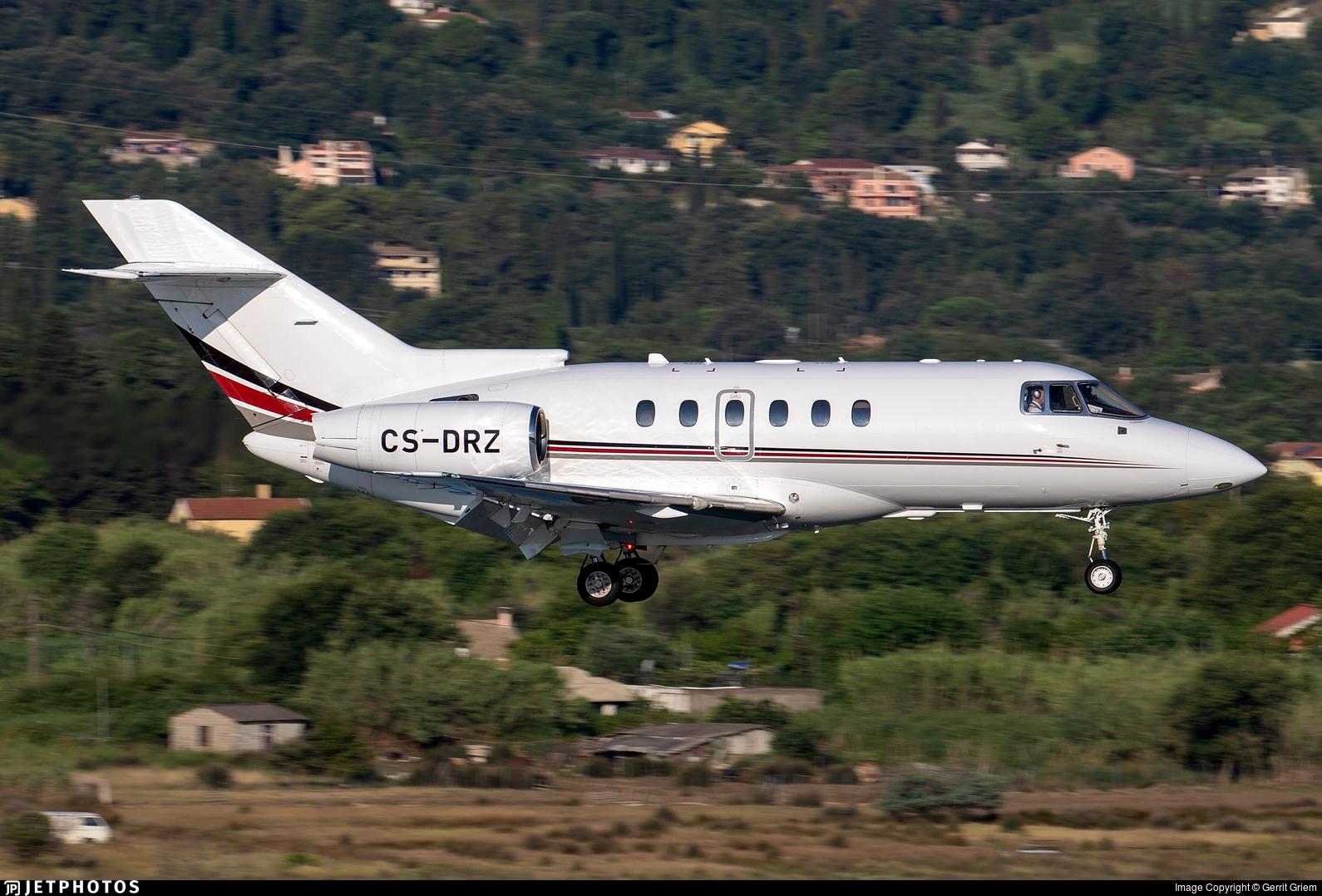 CS-DRZ - Raytheon Hawker 800XP - NetJets Europe