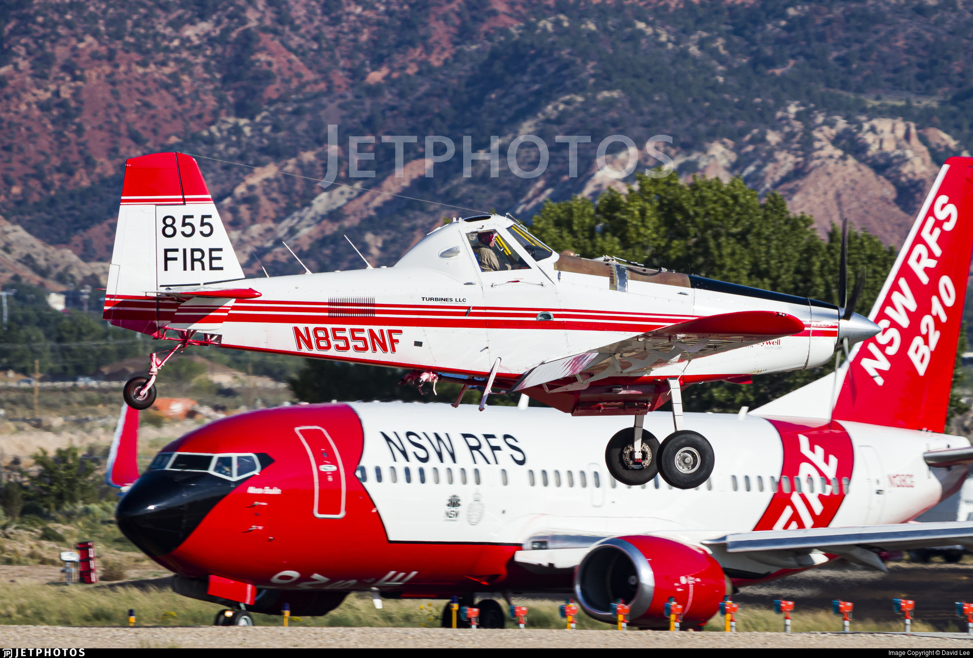 N855NF - Air Tractor AT-802A - Taylor Aviation