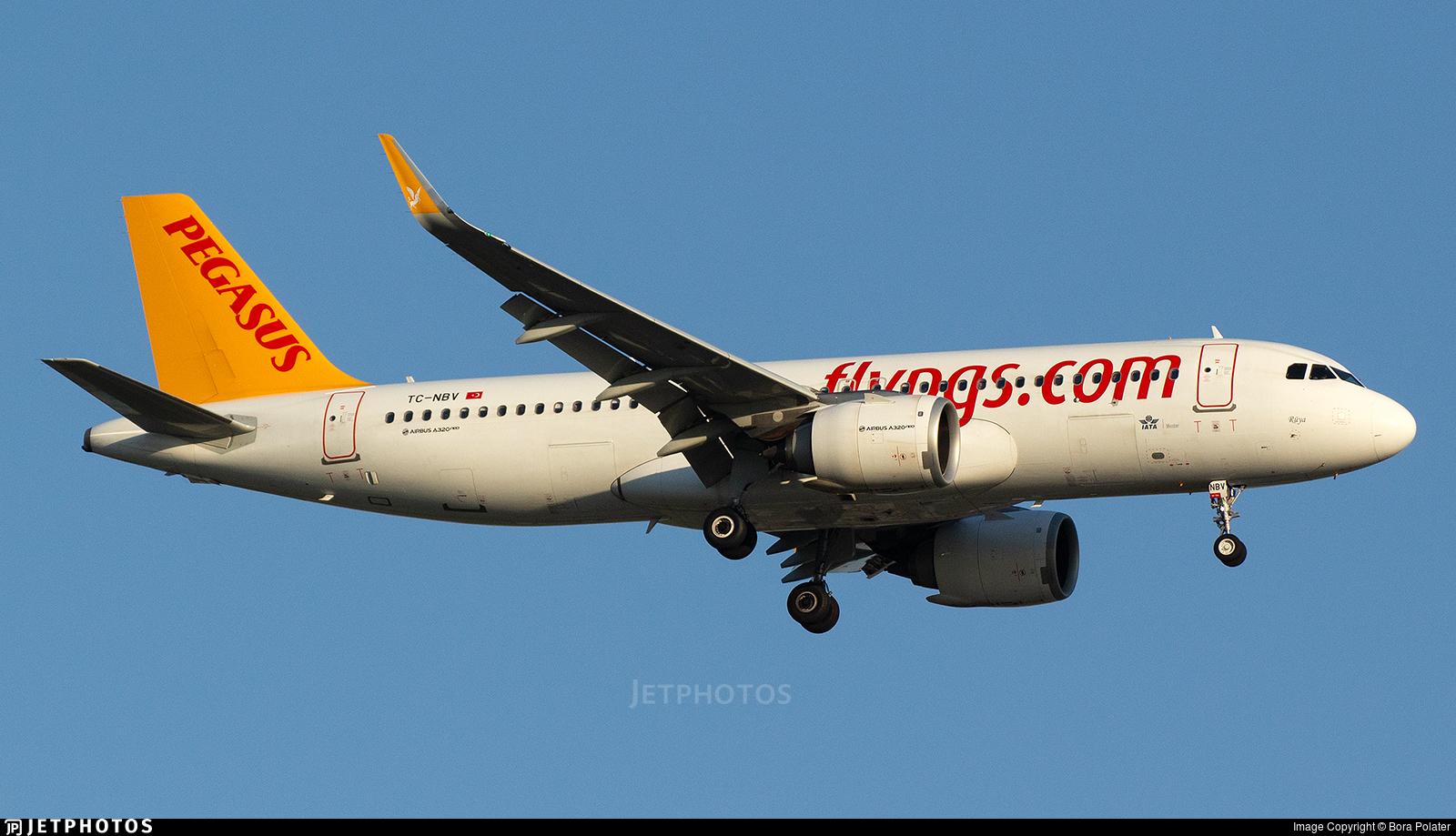 TC-NBV - Airbus A320-251N - Pegasus Airlines