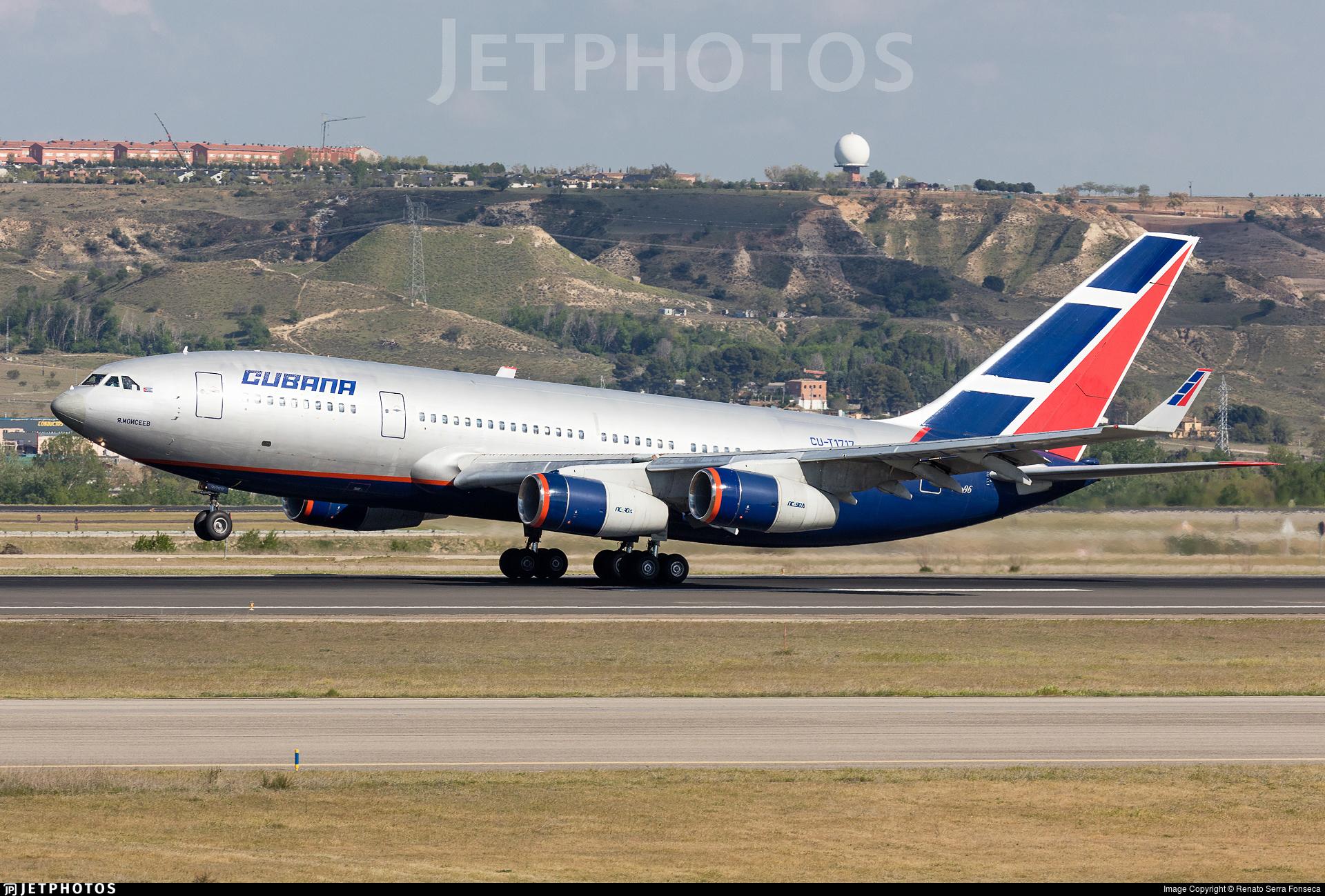 Cu T1717 Ilyushin Il 96 300 Cubana De Aviación Renato Serra Fonseca Jetphotos