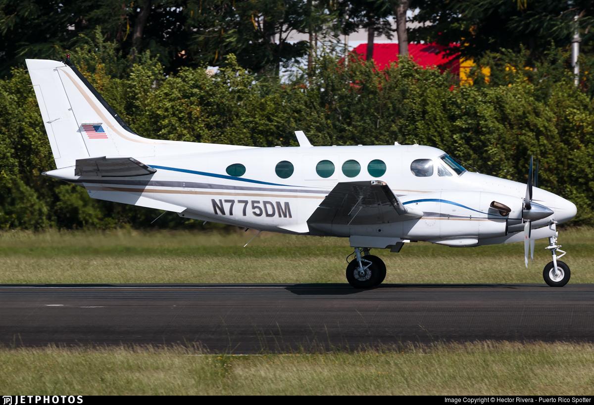 N775DM - Beechcraft C90 King Air - Private