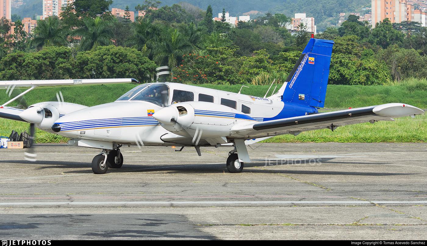 HK-4655 - Piper PA-34-200T Seneca II - SolairJet