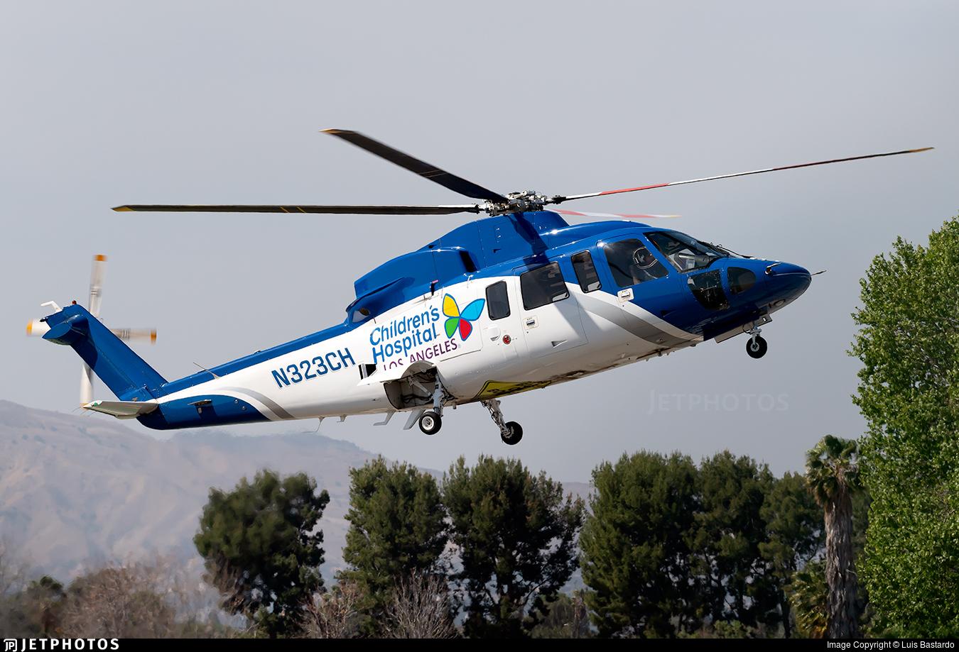 N323CH - Sikorsky S-76C-2 - Helinet Aviation