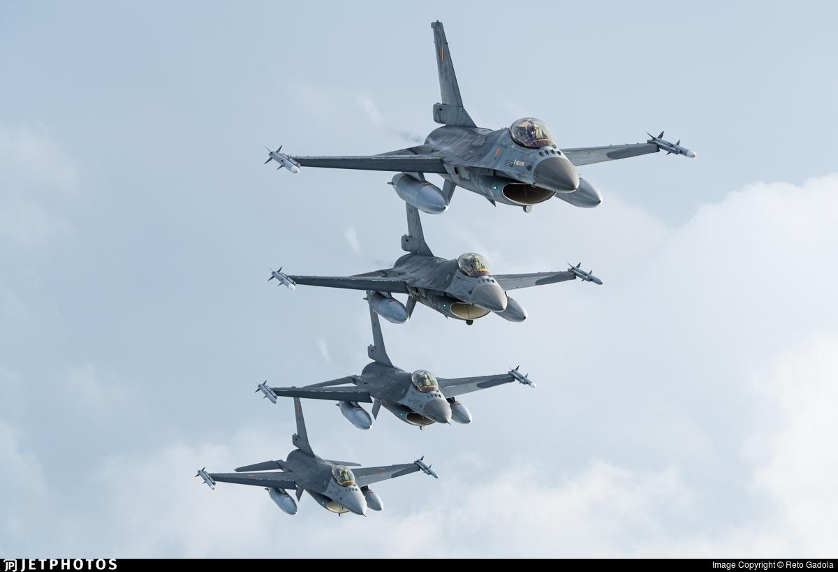 FA-134 - General Dynamics F-16AM Fighting Falcon - Belgium - Air Force