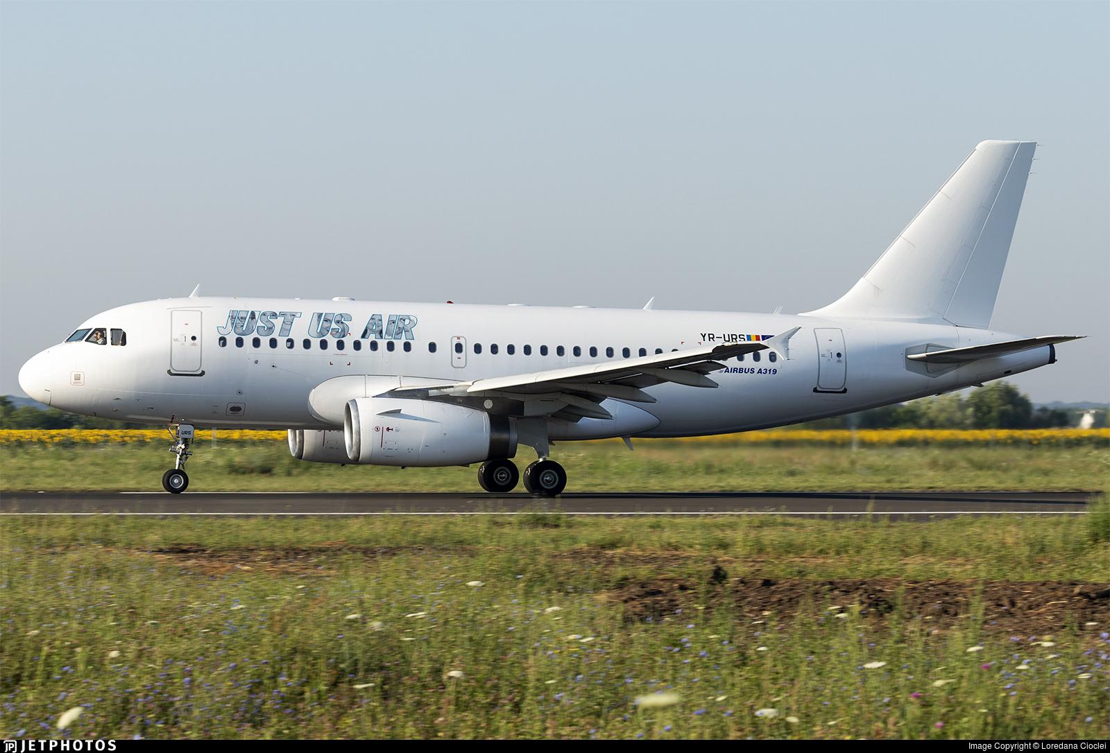 YR-URS - Airbus A319-132 - Just Us Air