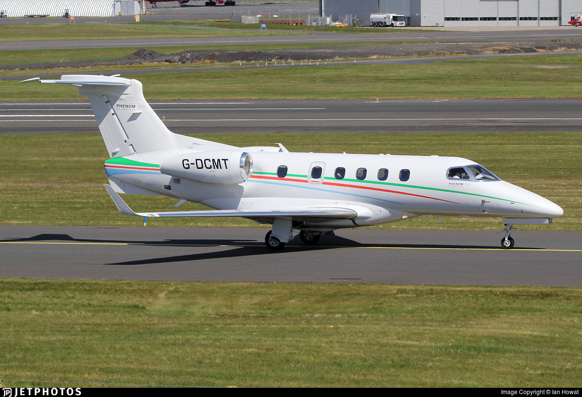 G-DCMT - Embraer 505 Phenom 300 - Voluxis