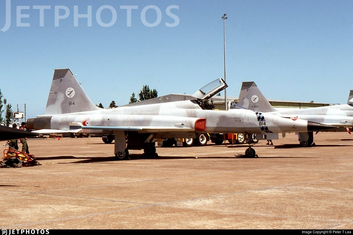 814 - Northrop F-5S Tiger II - Singapore - Air Force