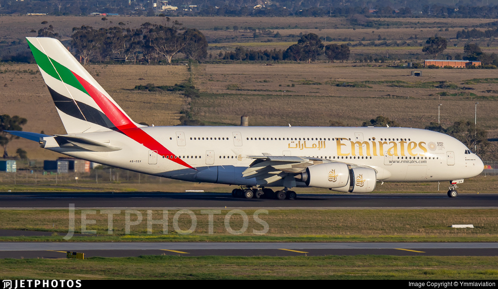 A6-EEK - Airbus A380-861 - Emirates