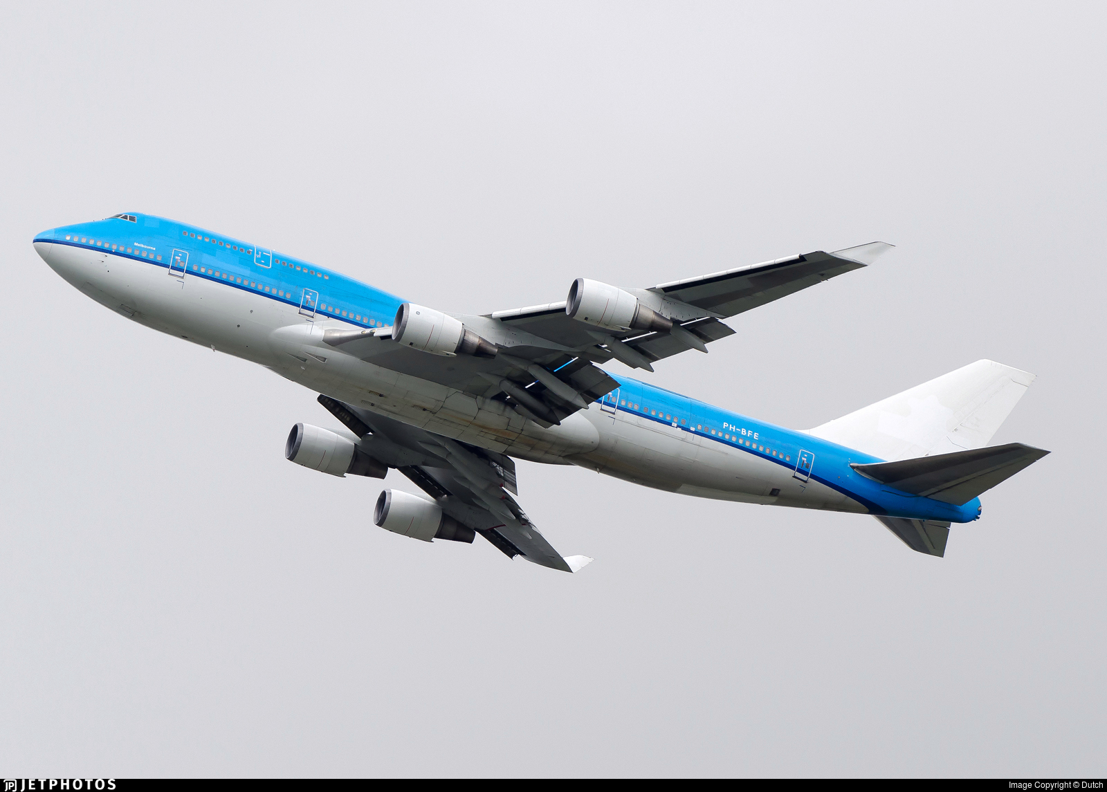 PH-BFE - Boeing 747-406(M) - Untitled