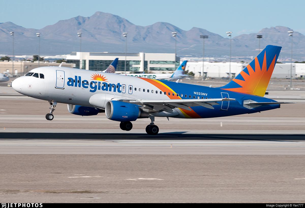 N323NV - Airbus A319-111 - Allegiant Air