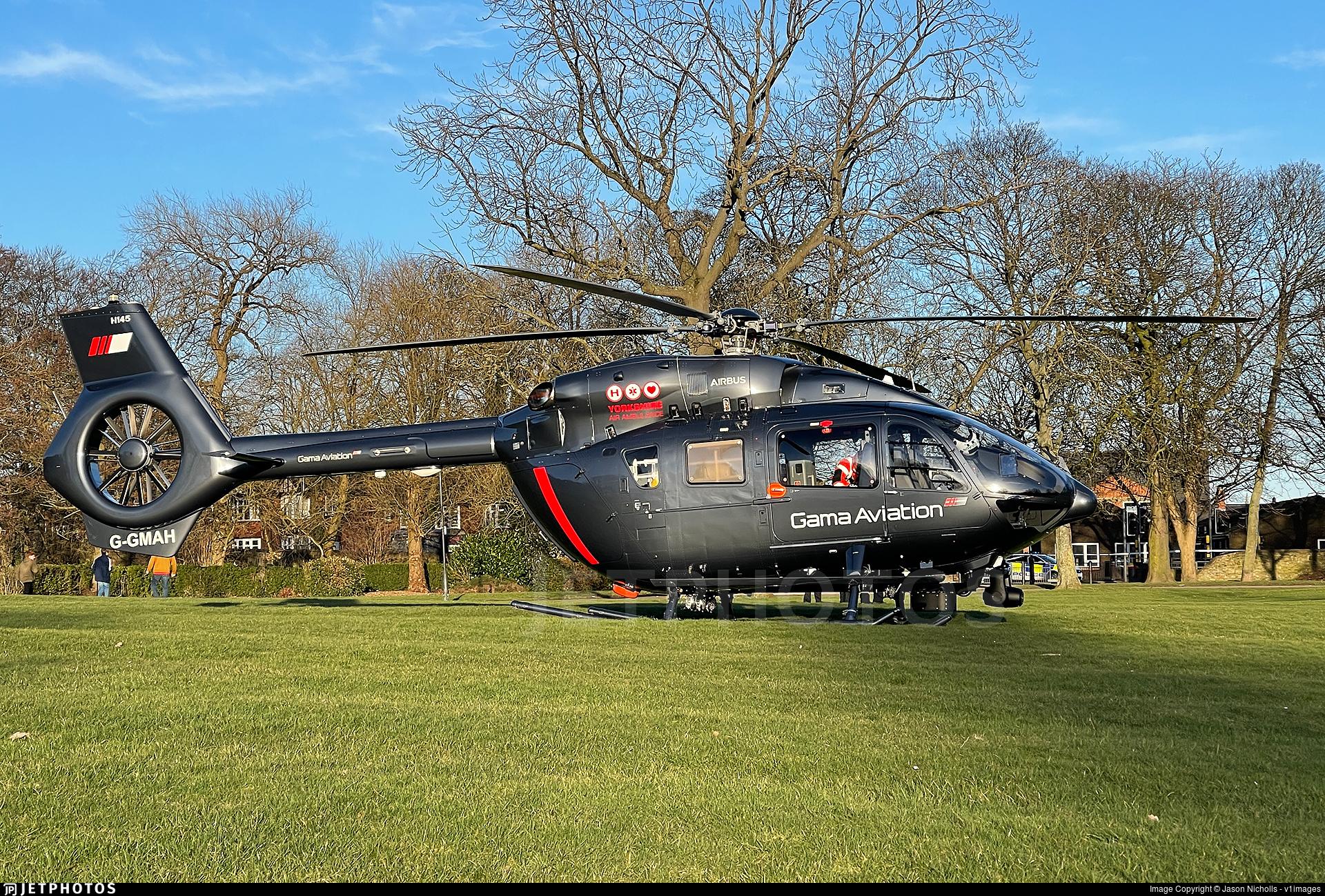 G-GMAH - Eurocopter EC 145T2 - Gama Aviation