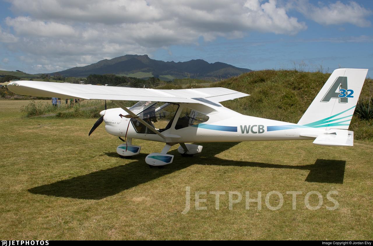ZK-WCB - Aeroprakt A-32 Vixxen - Private