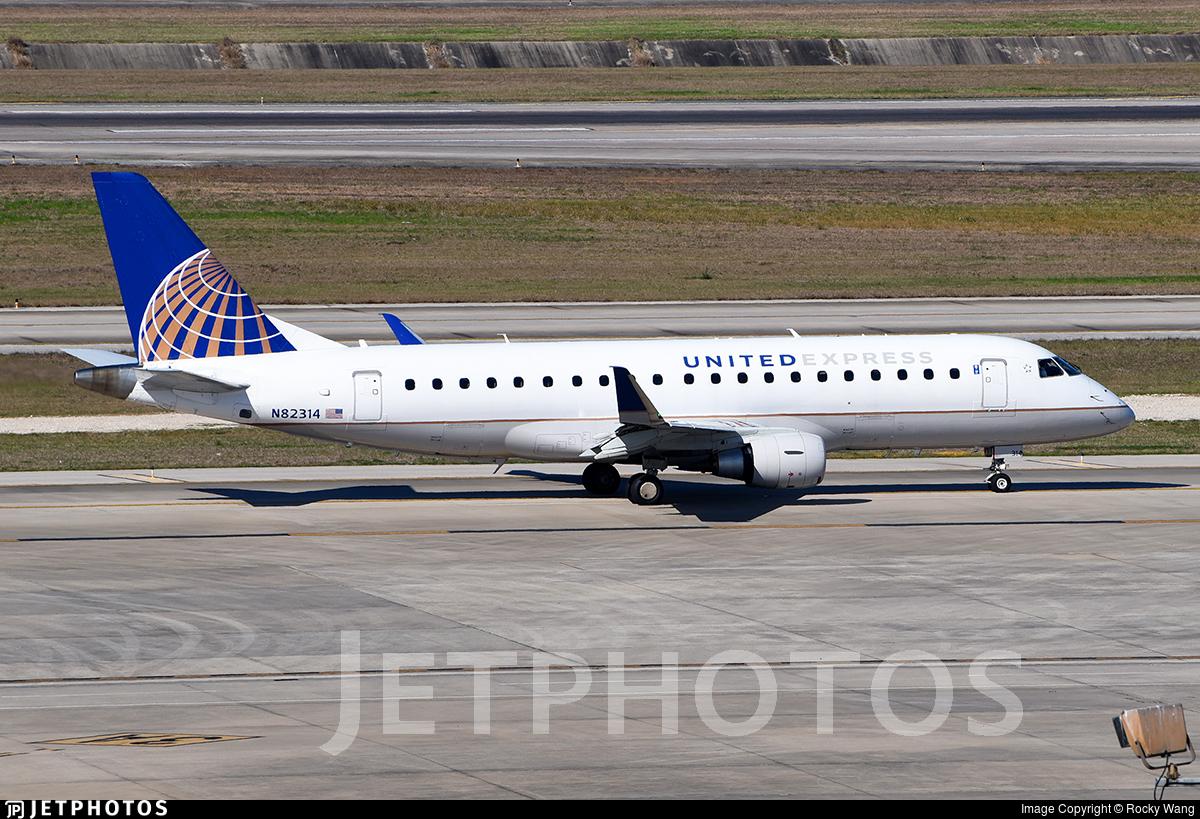 N82314 - Embraer 170-200LR - United Express (Mesa Airlines)