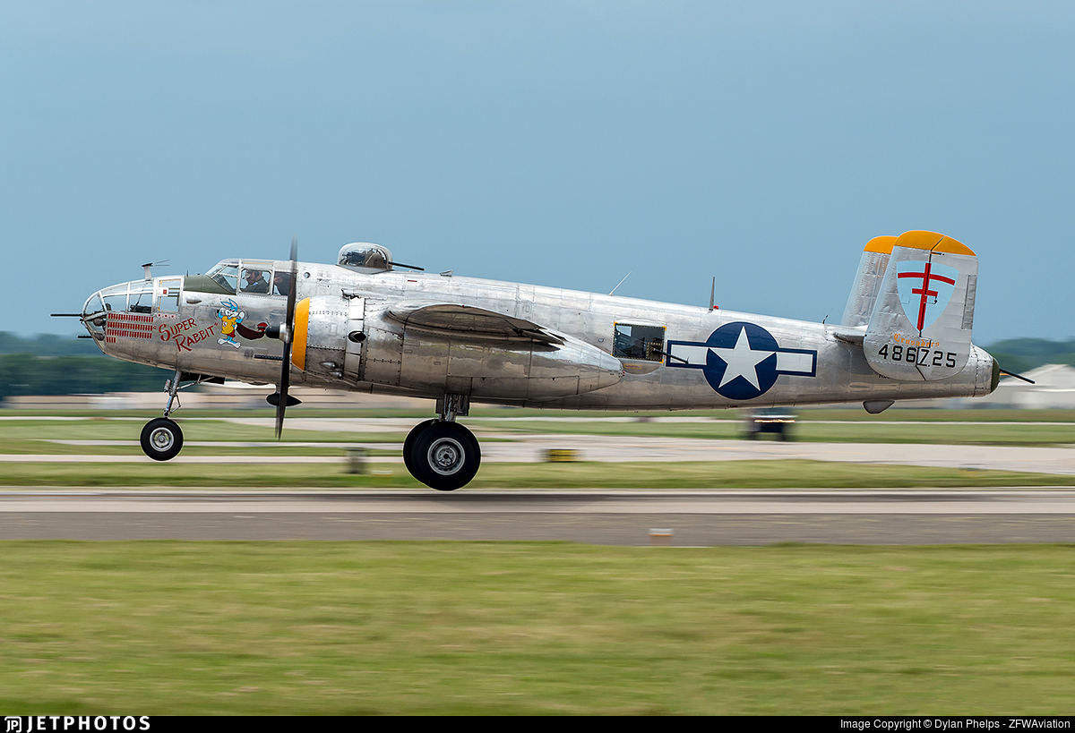 N25NA - North American B-25J Mitchell - Private