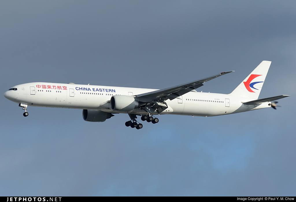 B 2001 boeing 777 39per china eastern airlines paul - China eastern airlines sydney office ...