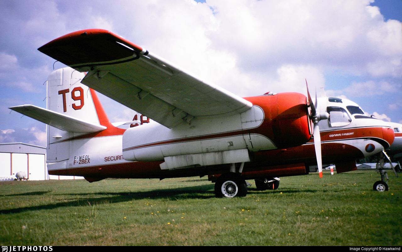 F-WEOL - Conair S-2 Firecat - France - Sécurité Civile