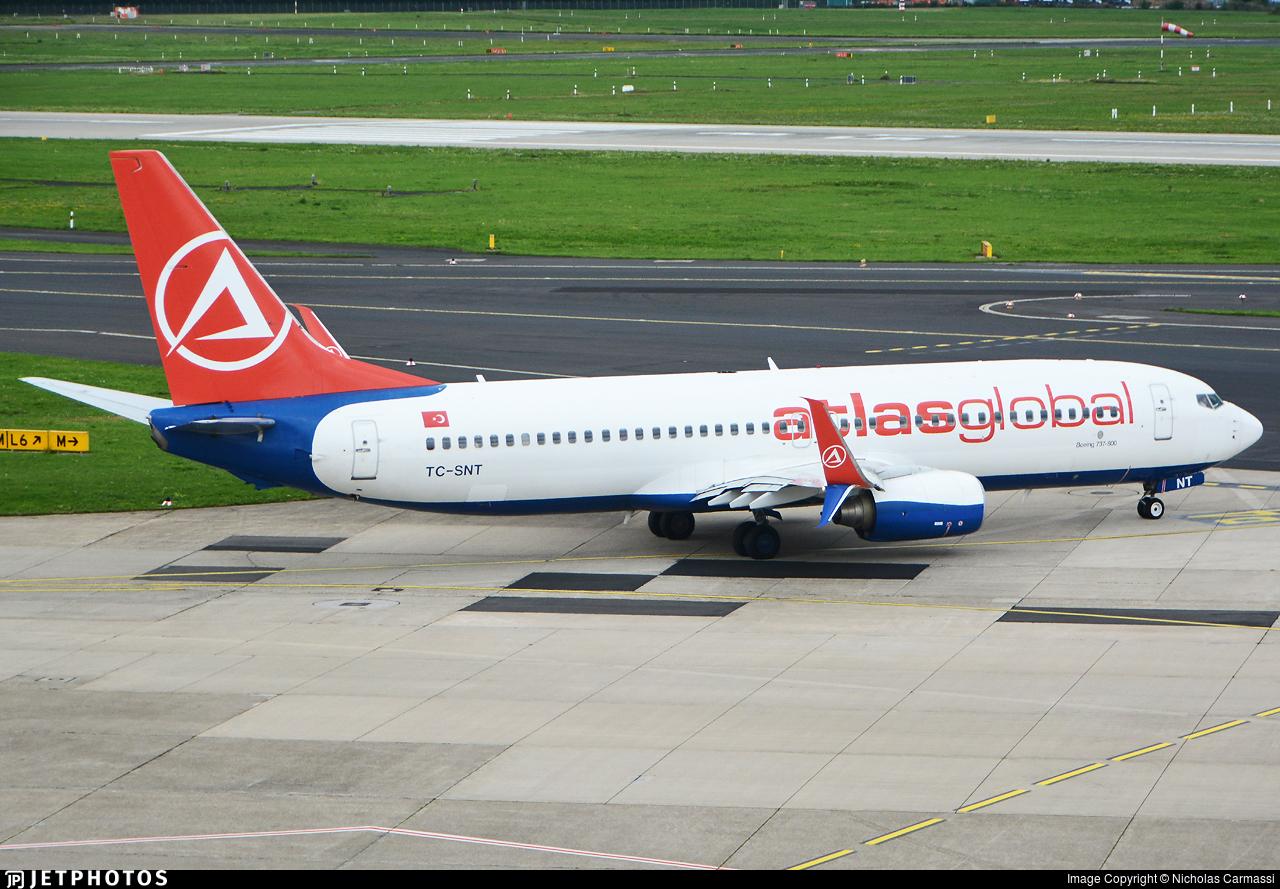 TC-SNT - Boeing 737-8HC - AtlasGlobal (SunExpress)