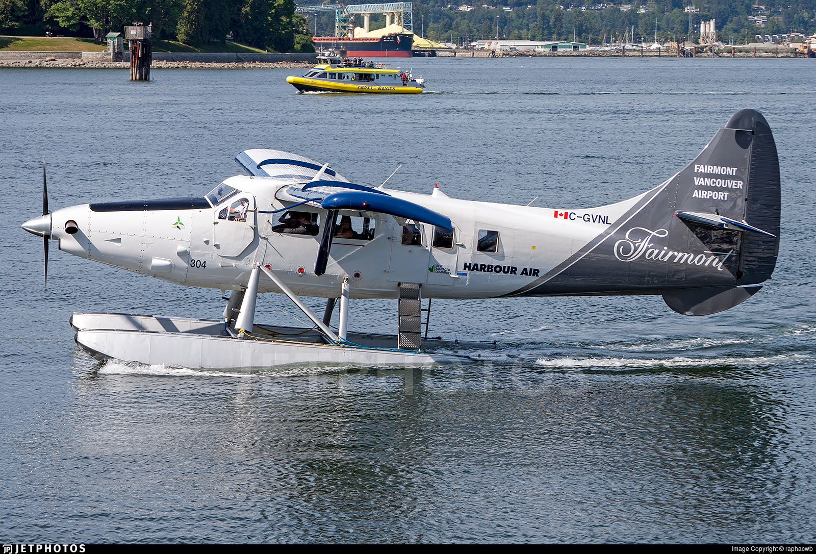 C-GVNL - De Havilland Canada DHC-3T Vazar Turbine Otter - Harbour Air
