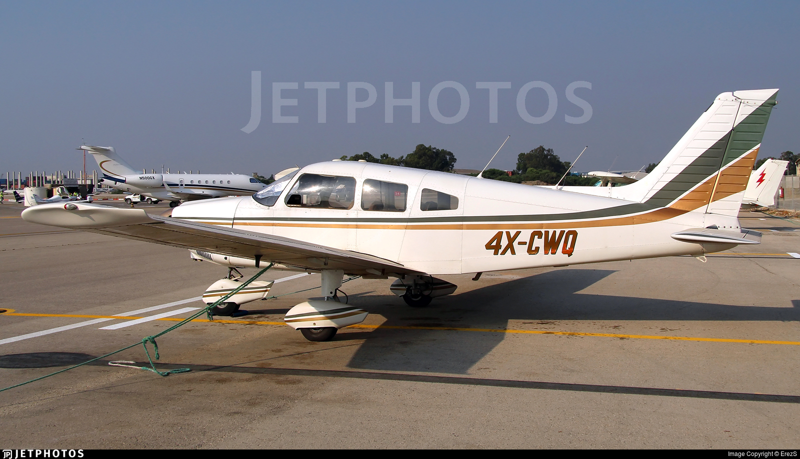 4X-CWQ - Piper PA-28-181 Cherokee Archer II - Private
