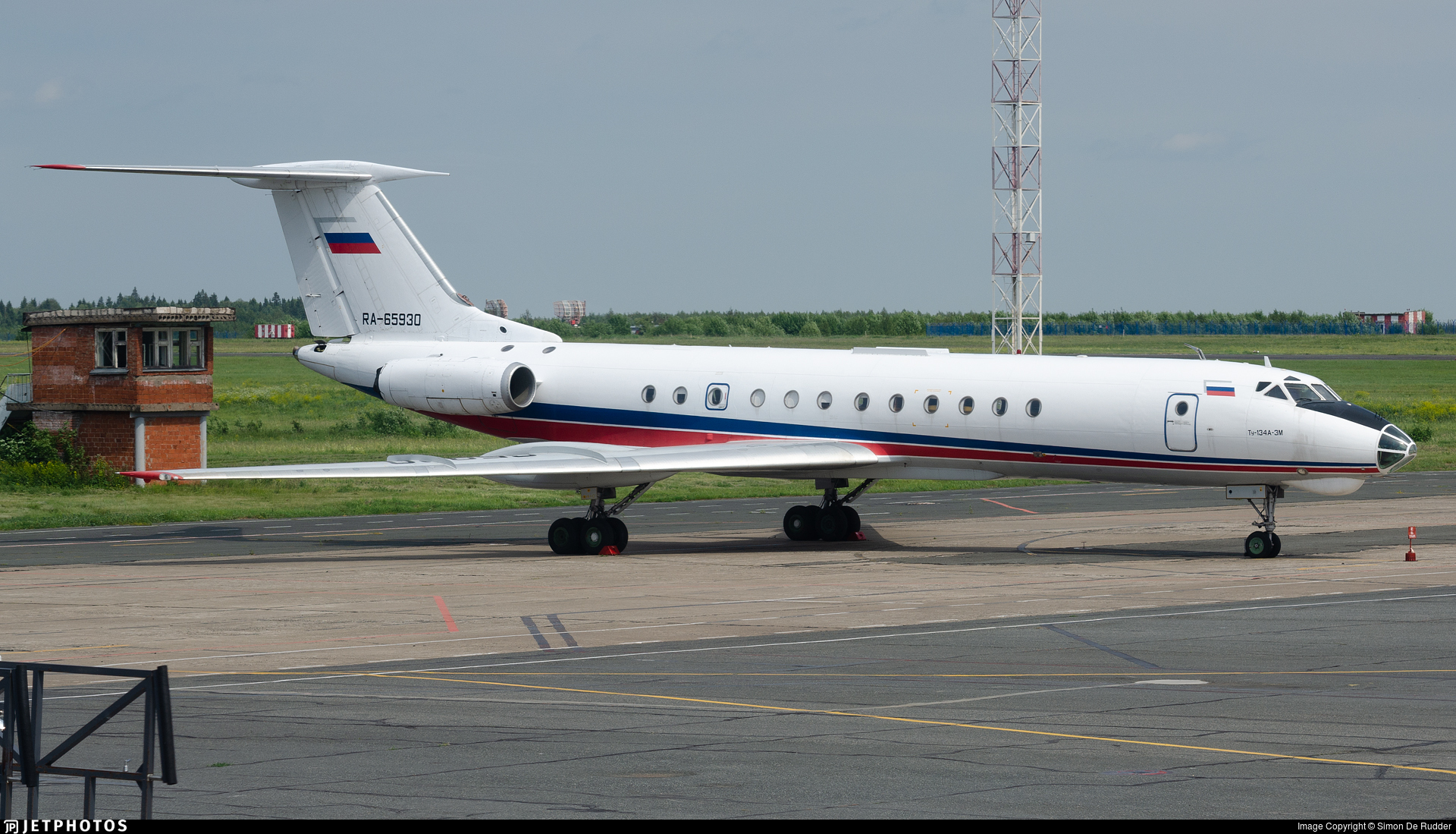 RA-65930 - Tupolev Tu-134A-3M - Izhavia