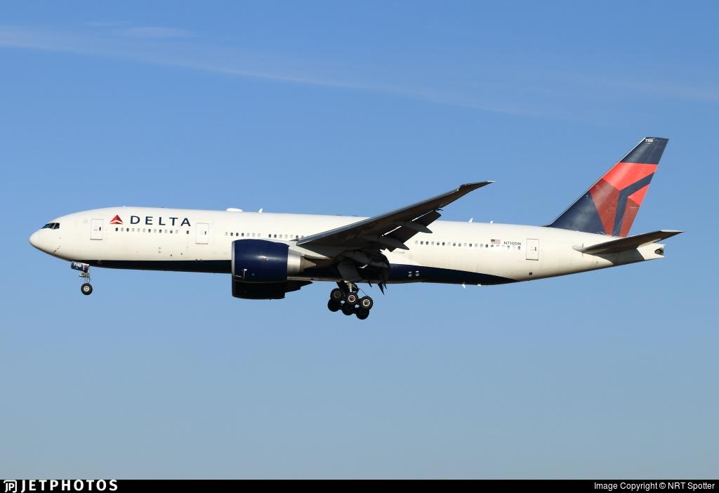 N710DN - Boeing 777-232LR - Delta Air Lines