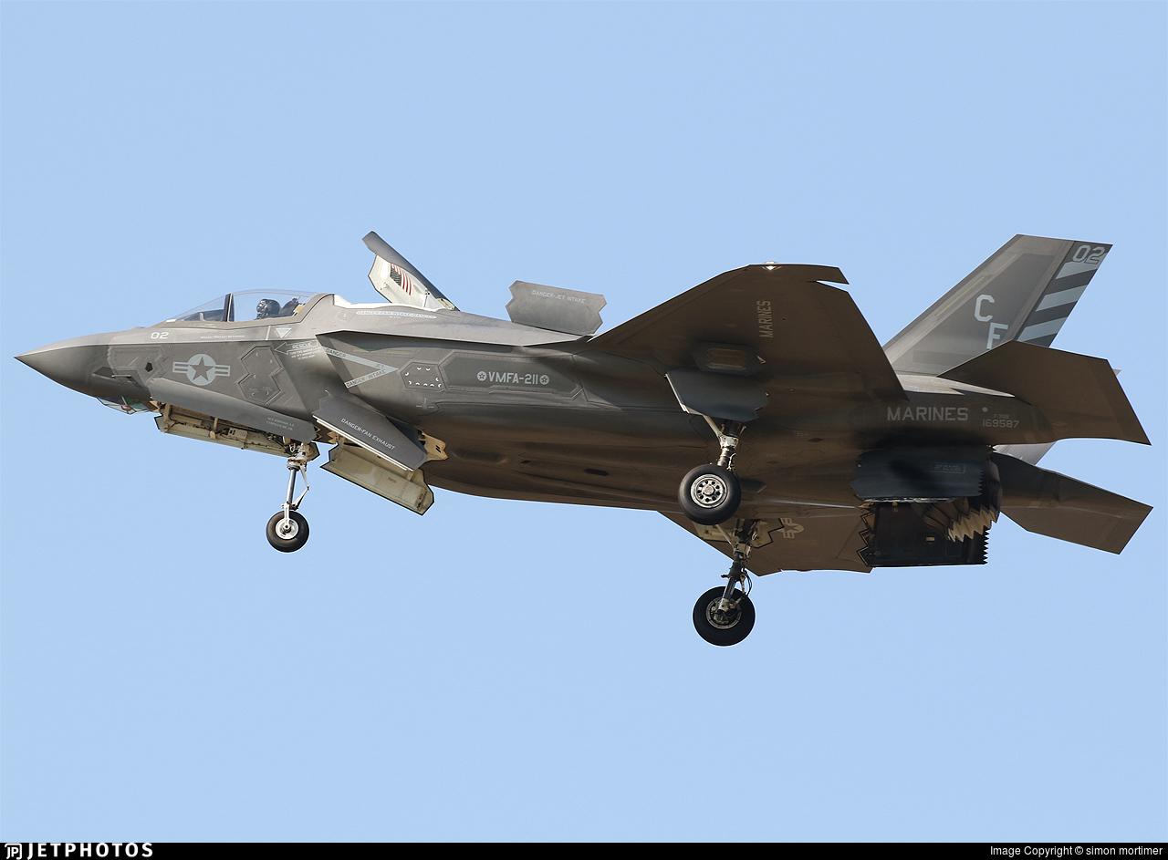 169587 - Lockheed Martin F-35B Lightning II - United States - US Marine Corps (USMC)