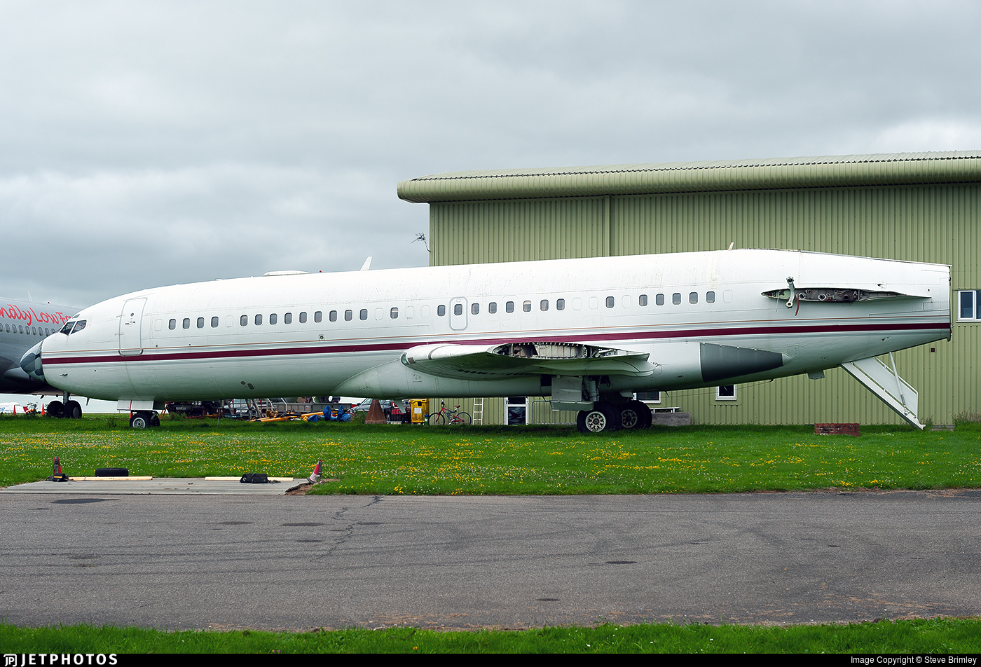 VP-CMN - Boeing 727-46 - Private