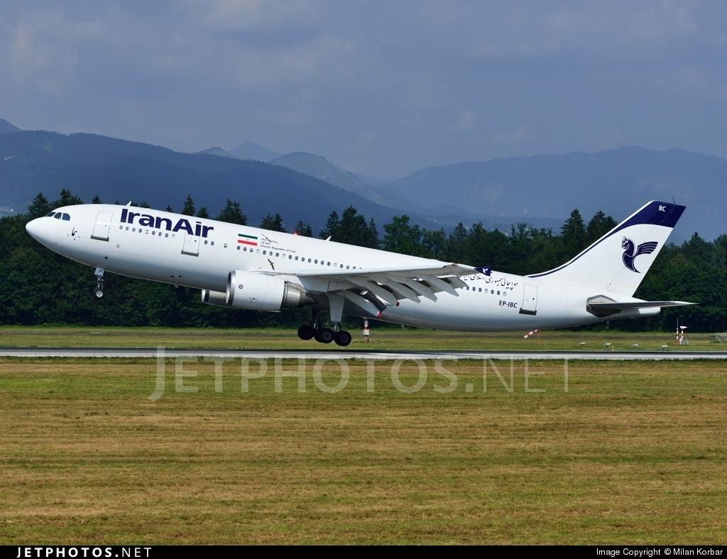 EP-IBC - Airbus A300B4-605R - Iran Air