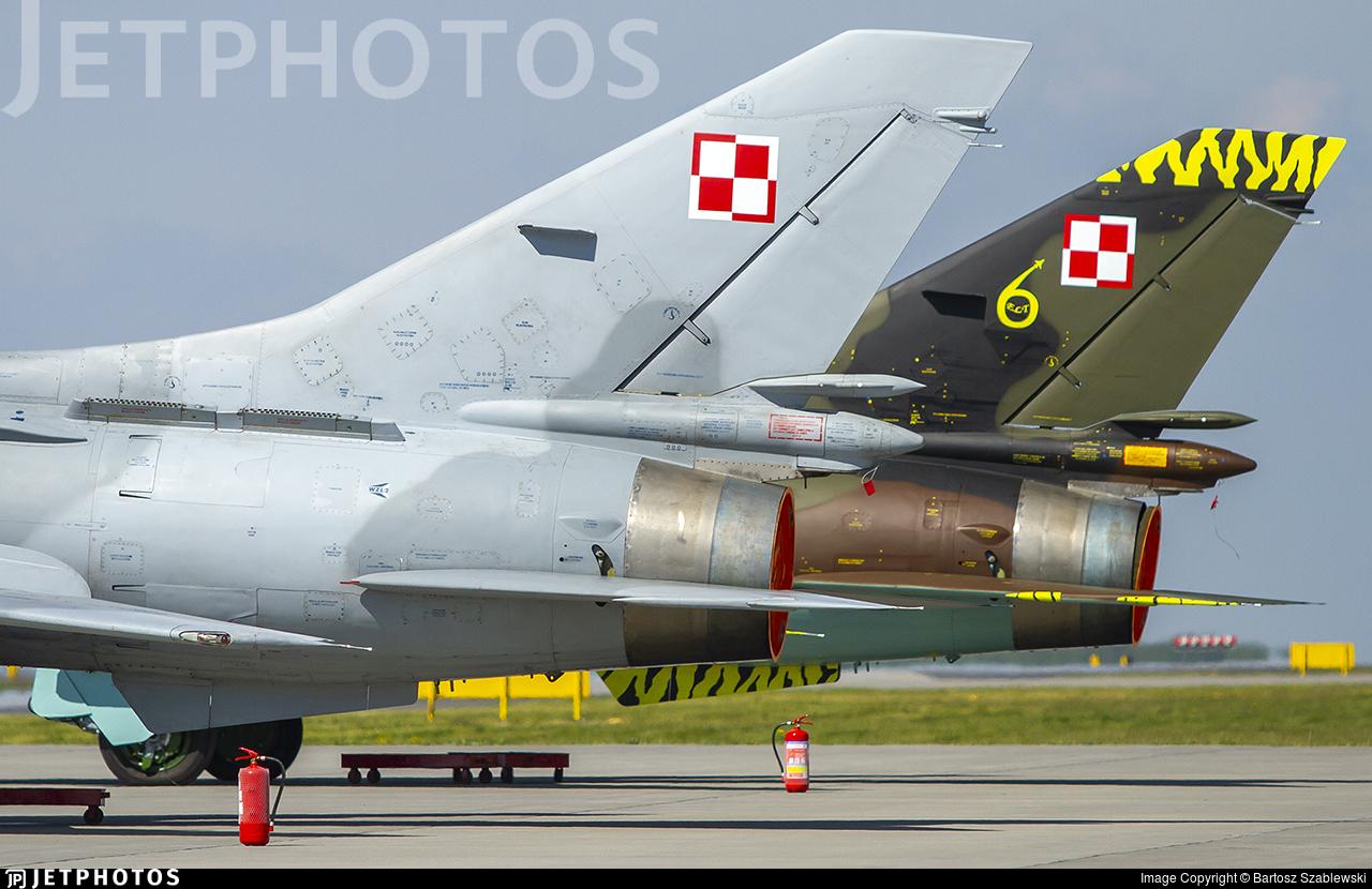 509 - Sukhoi Su-22UM3K Fitter G - Poland - Air Force