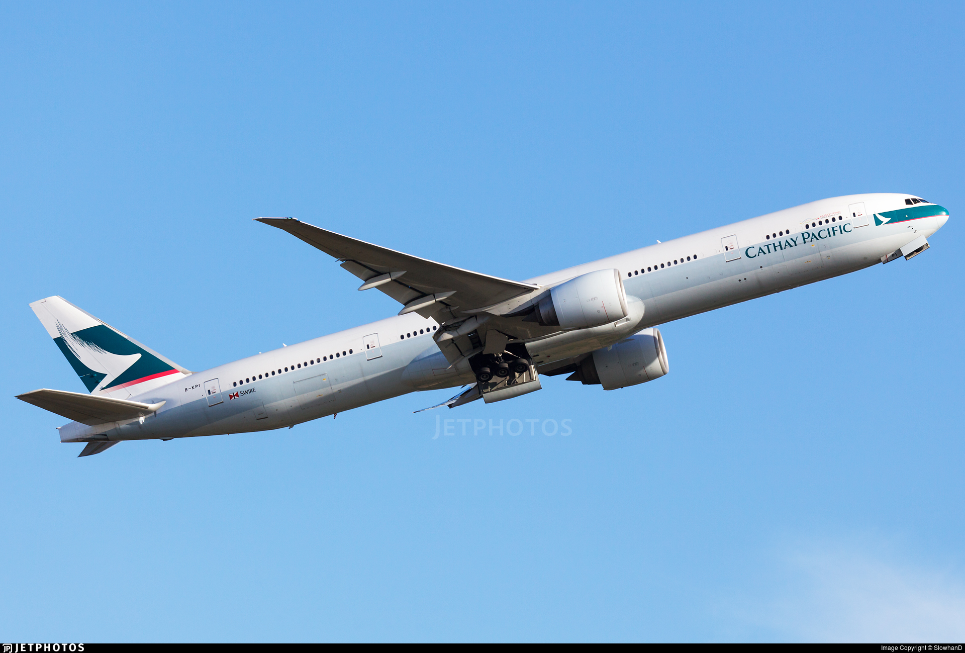 B-KPI - Boeing 777-367ER - Cathay Pacific Airways
