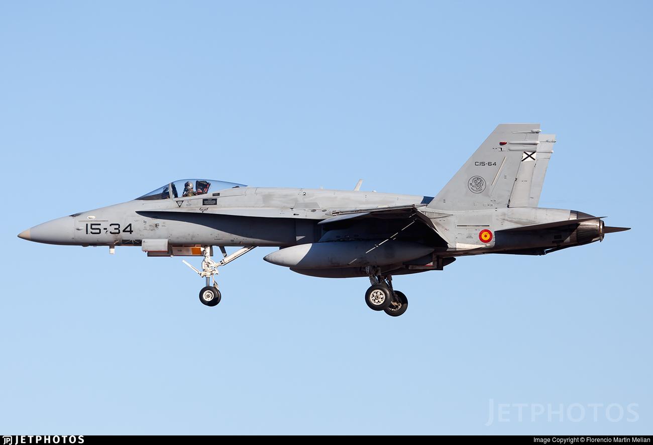C.15-64 - McDonnell Douglas EF-18M Hornet - Spain - Air Force