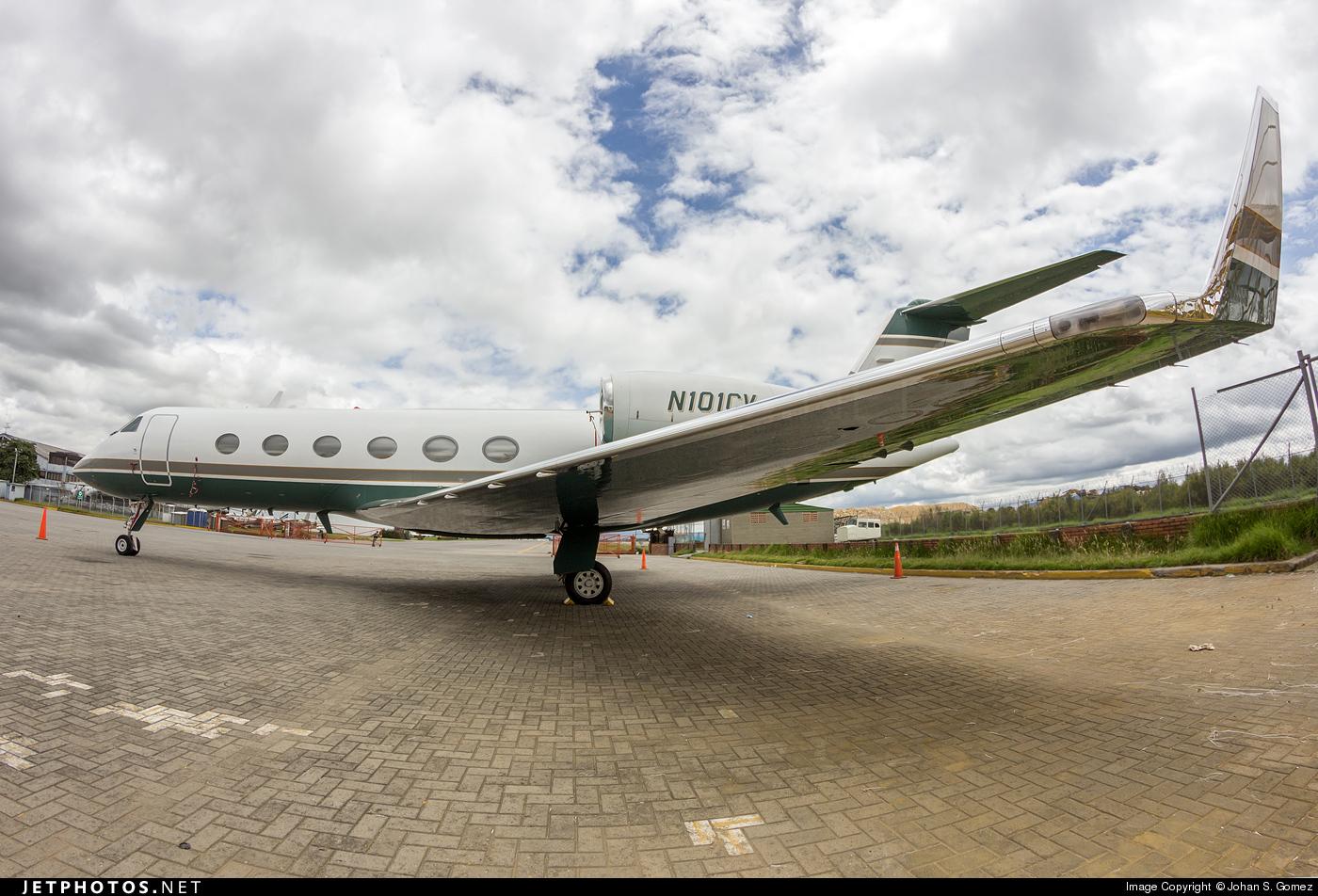 N101CV - Gulfstream G-IV(SP) - Private