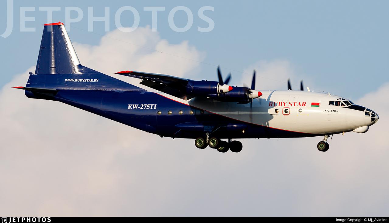 EW-275TI - Antonov An-12BK - RubyStar