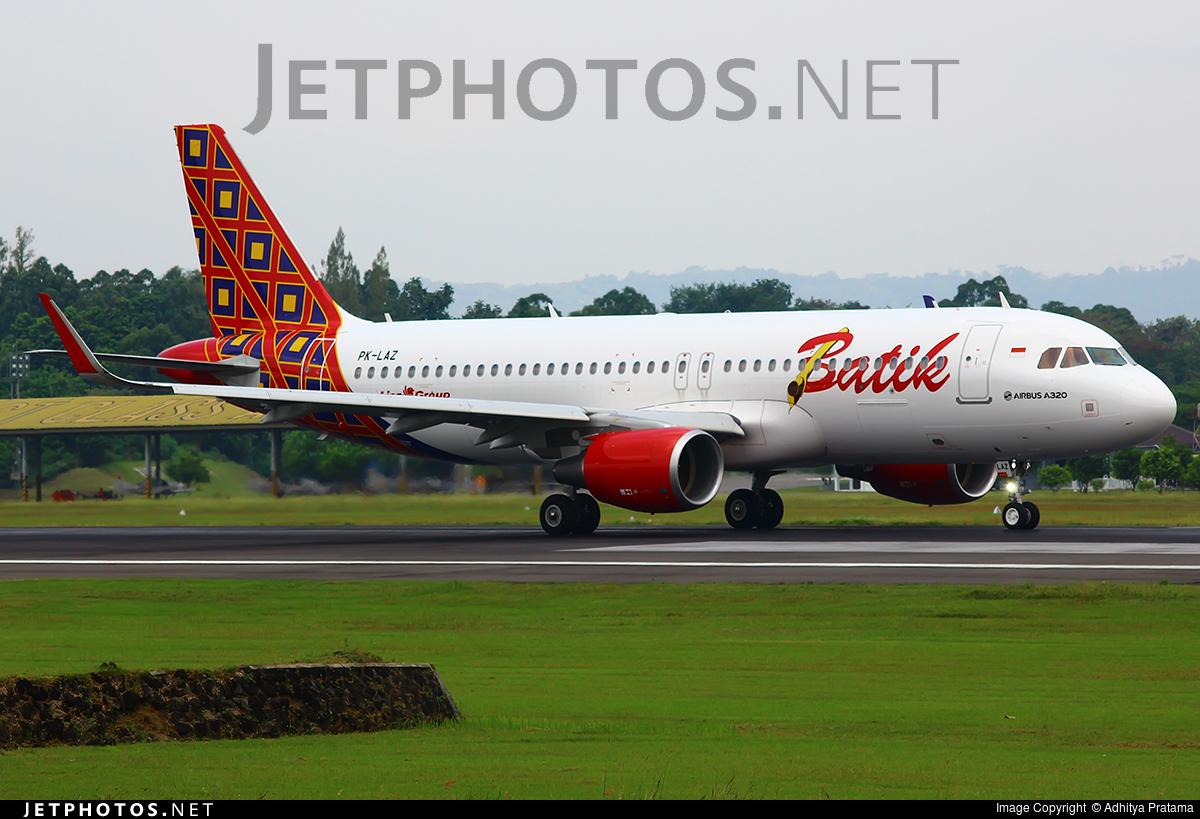 PK-LAZ | Airbus A320-214 | Batik Air | Adhitya Pratama