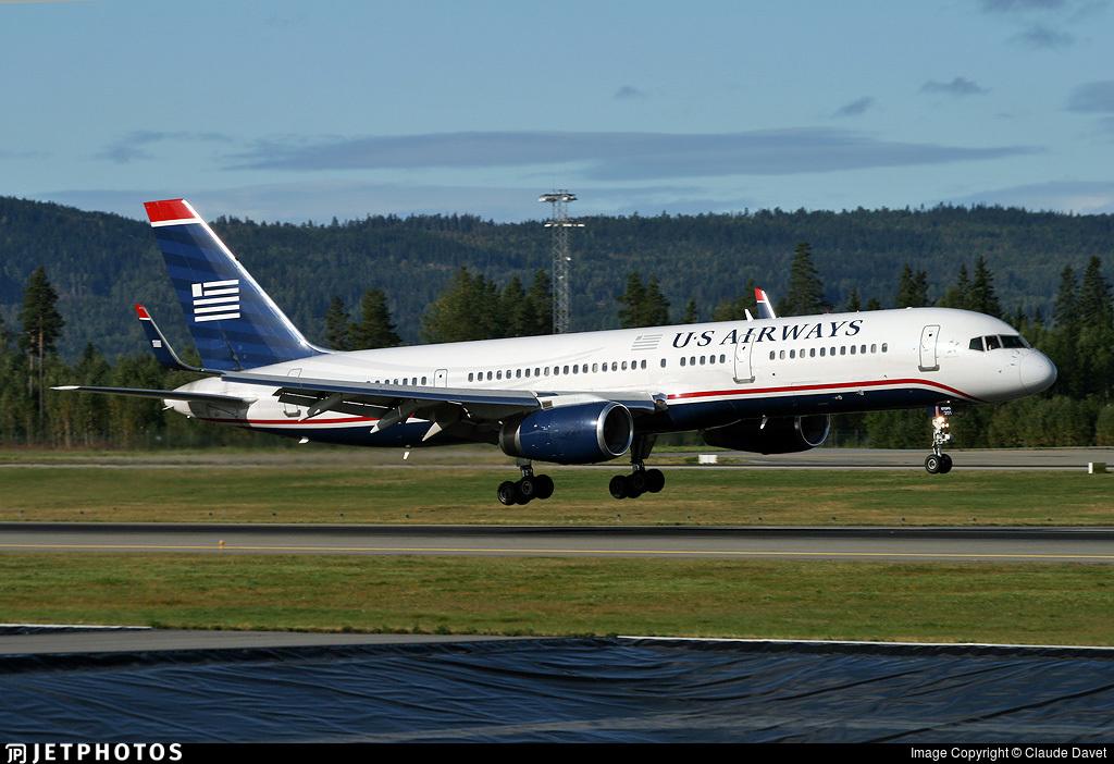 N201UU - Boeing 757-2B7 - US Airways