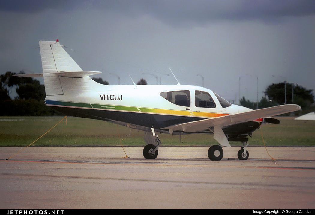 VH-CUJ - Rockwell Commander 114 - Private