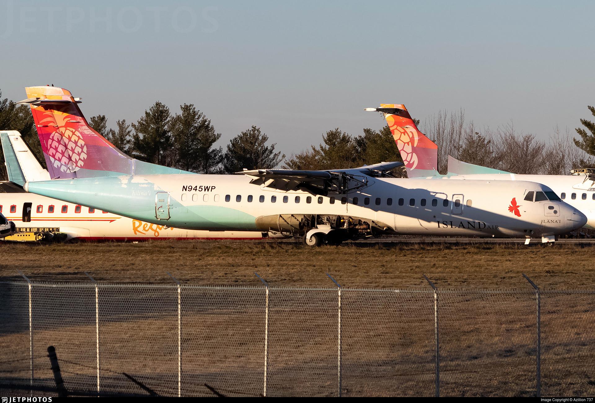 N945WP - ATR 72-212 - Island Air