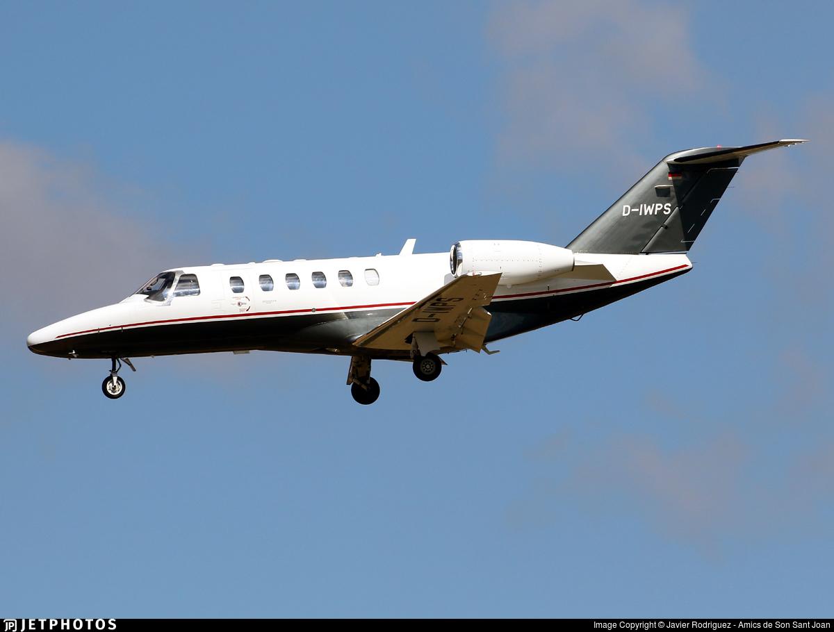 D-IWPS - Cessna 525A CitationJet 2 Plus - Private