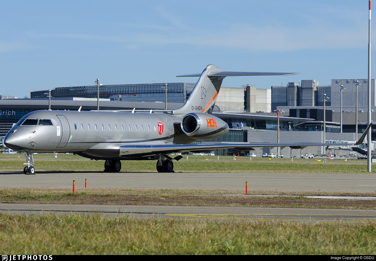 D-AHGN - Bombardier BD-700-1A10 Global 6000 - Windrose Air Jetcharter