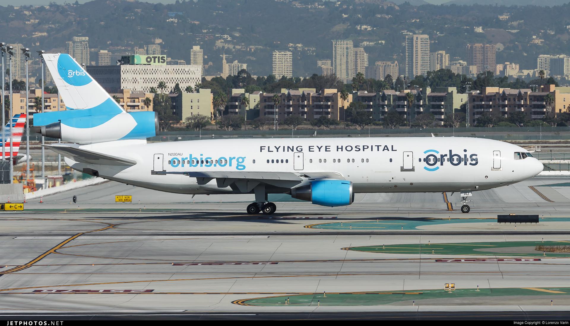 N220AU - McDonnell Douglas DC-10-10 - ORBIS Flying Eye Hospital