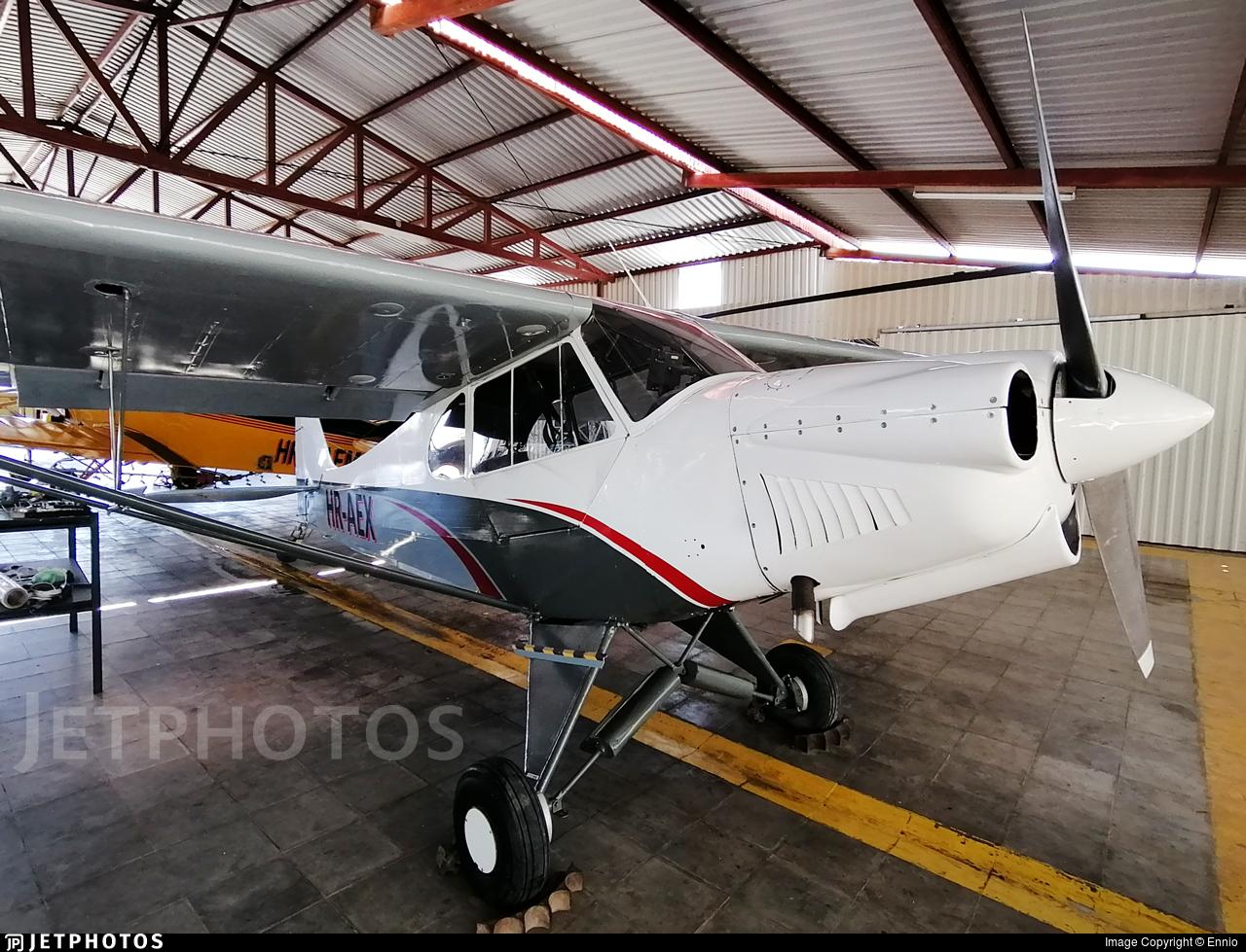 HR-AEX - Piper PA-18 Super Cub - Private