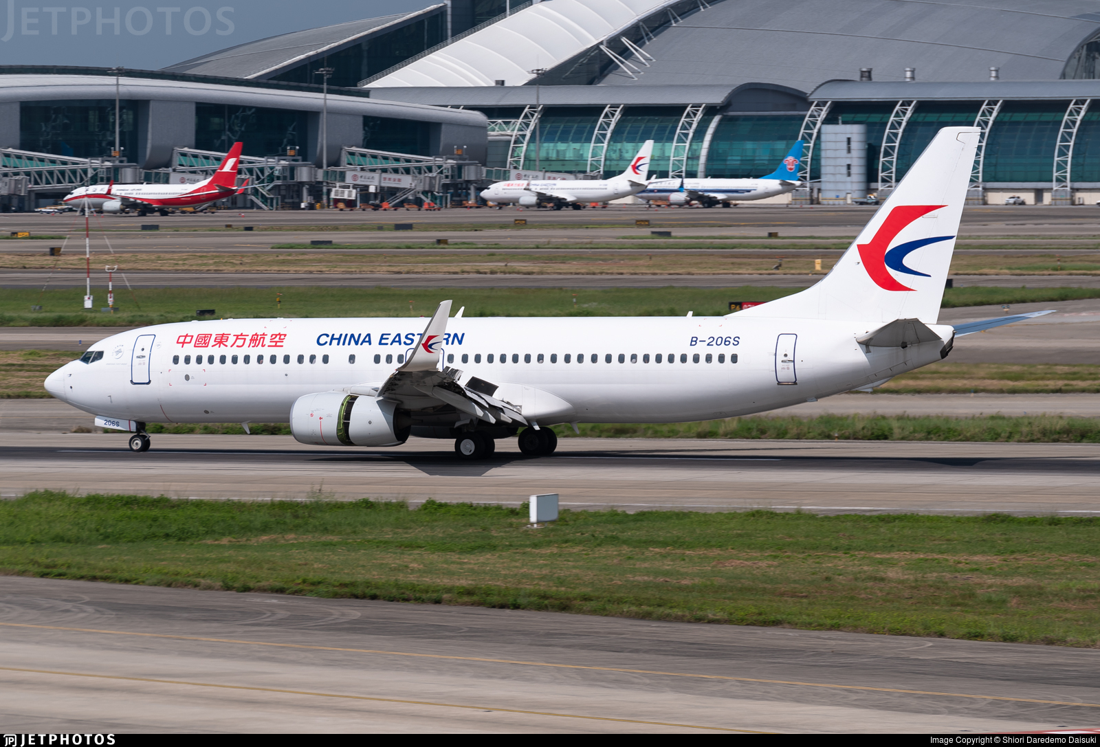 B-206S - Boeing 737-89P - China Eastern Airlines