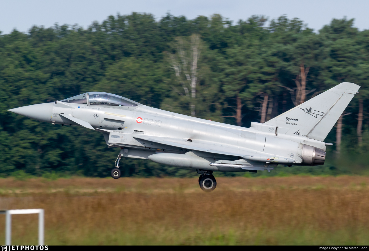 MM7310 - Eurofighter Typhoon EF2000 - Italy - Air Force