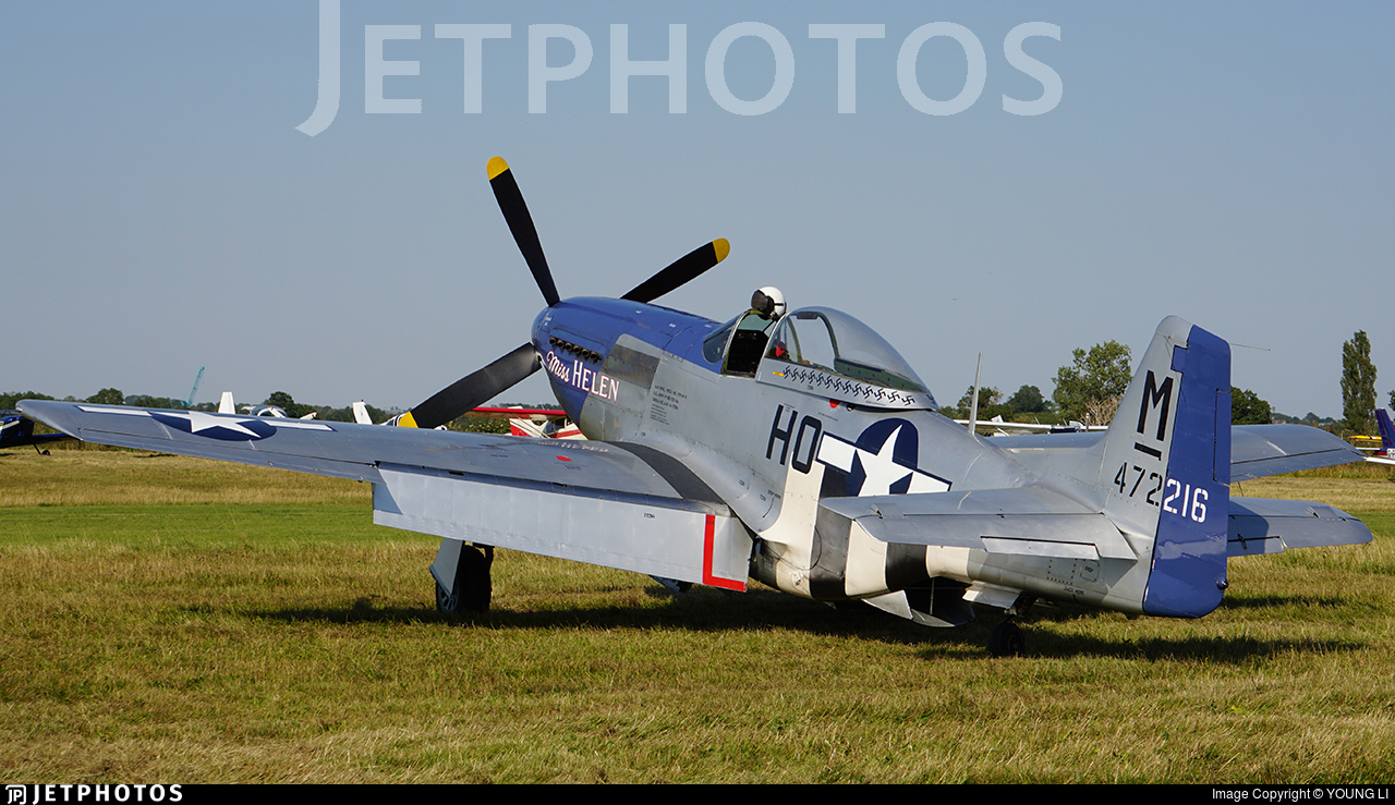 G-BIXL - North American P-51D Mustang - Private