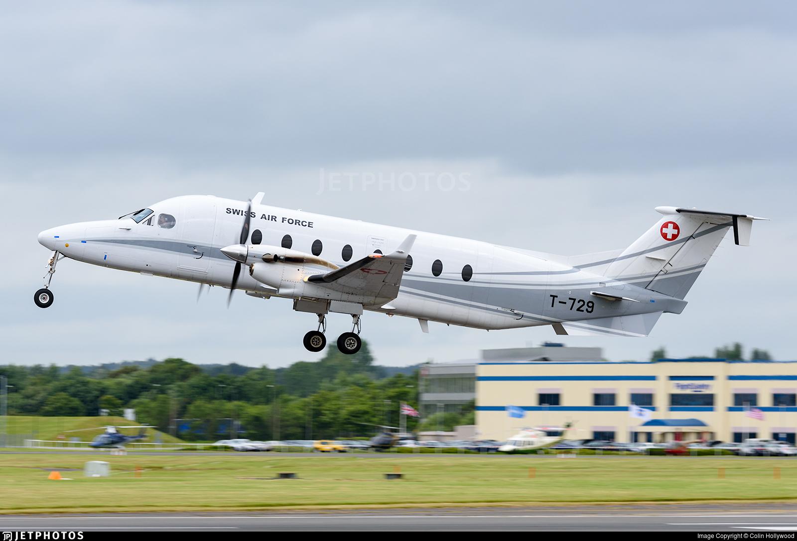 T-729 - Beech 1900D - Switzerland - Air Force