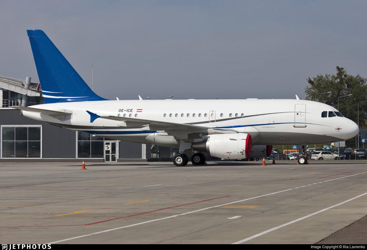 OE-ICE - Airbus A318-112(CJ) Elite - Avcon Jet