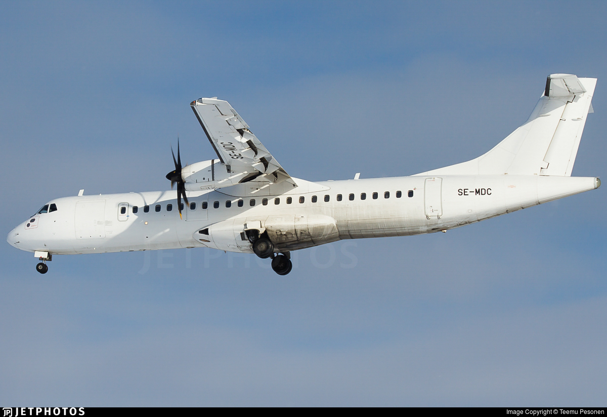 SE-MDC - ATR 72-212A(500) - Danish Air Transport (DAT)