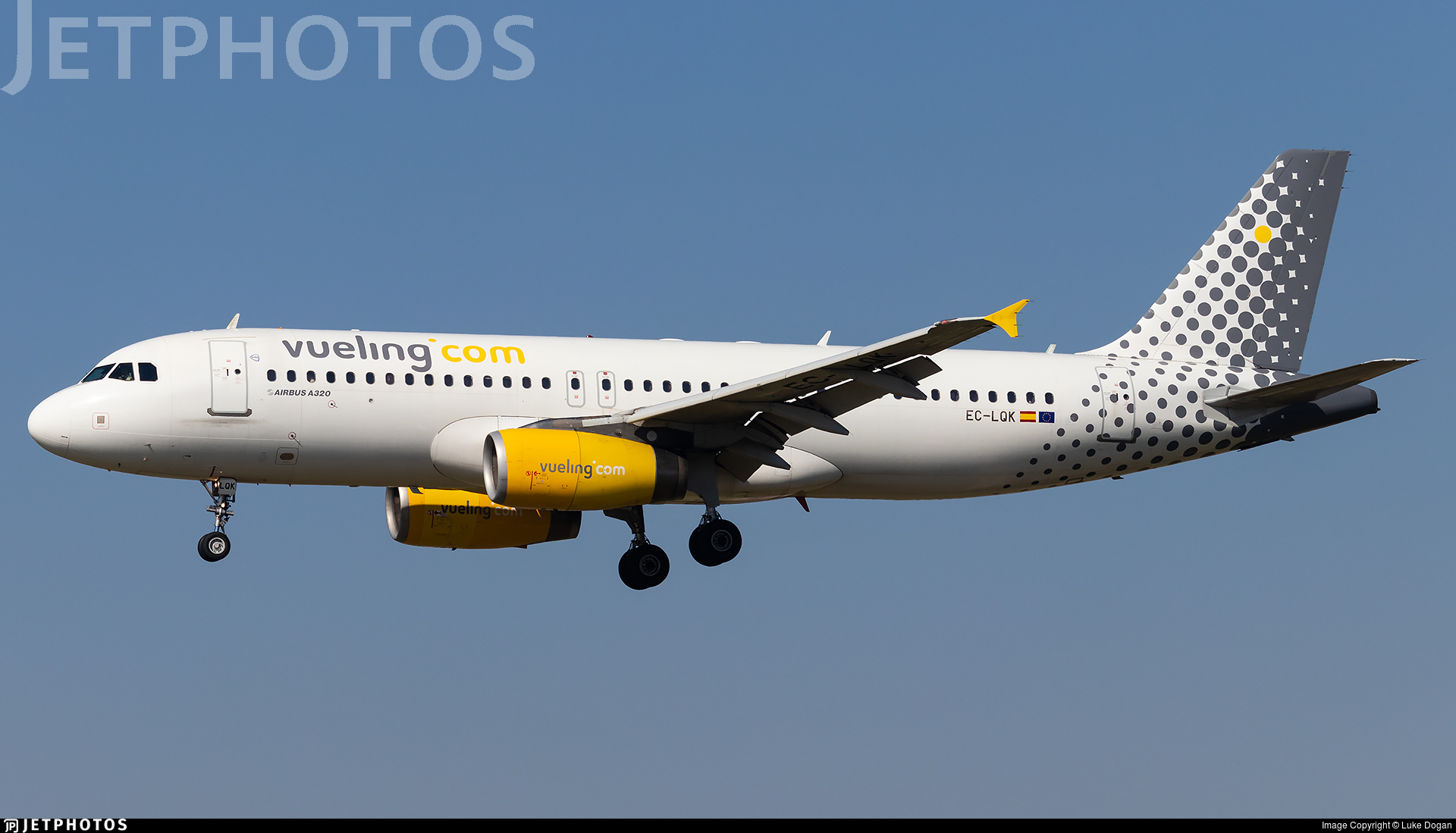 EC-LQK - Airbus A320-232 - Vueling