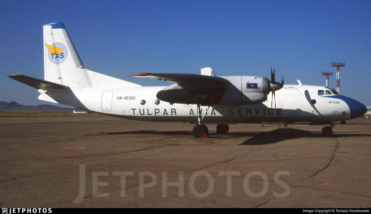 UN-46310 - Antonov An-24B - Tulpar Avia Service